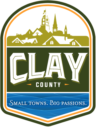 logo clay county